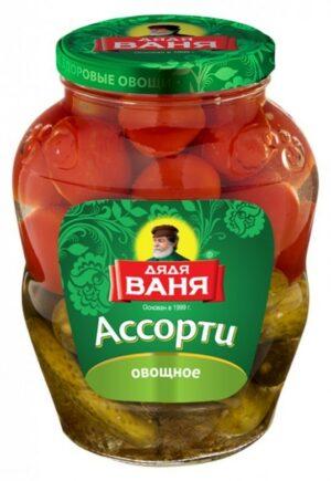 Ассорти овощное 1800г
