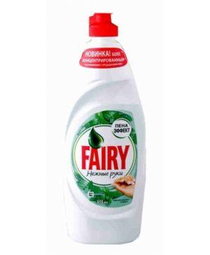 Жидкое средство для мытья посуды Fairy Нежные руки 450 мл Чайное дерево и Мята