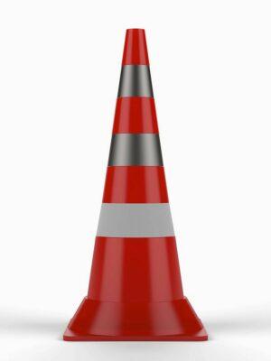 Конус сигнальный дорожный 250мм