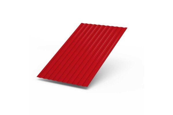 Профилированный лист С-8 х 1150 (ПЭ-01-9003-0,45) красный