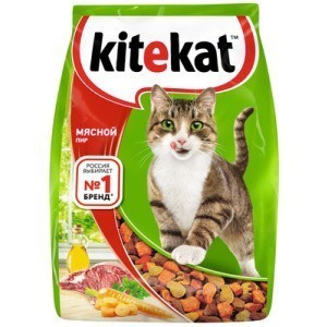 Kitekat Мясной Пир корм для кошек