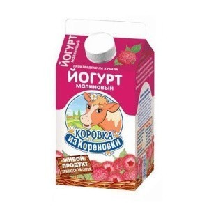 Йогурт питьевой Коровка из кореновки