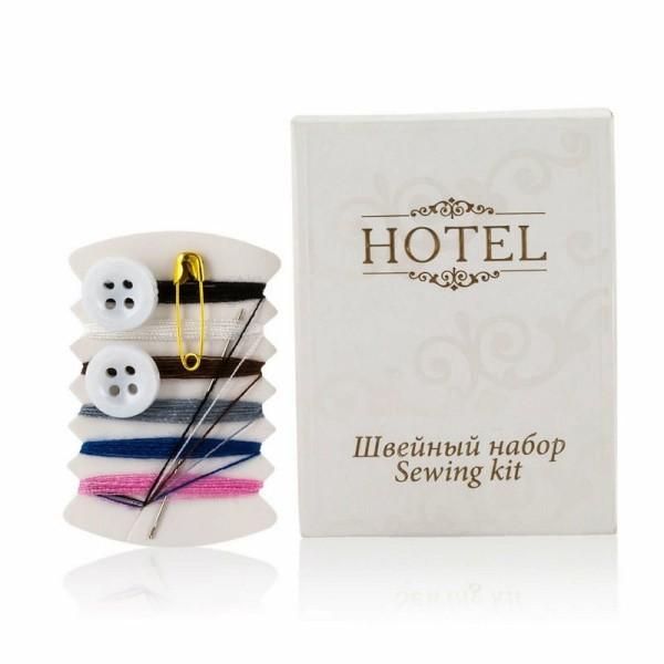 Швейный набор в картоне hotel