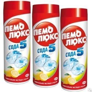 Ср-во чист Пемолюкс 480 гр порошок Лимон