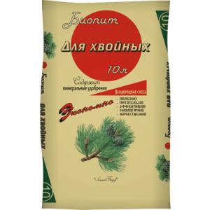 Торф ЛАМА Биопит Плодородная смесь для Хвойных 60 л