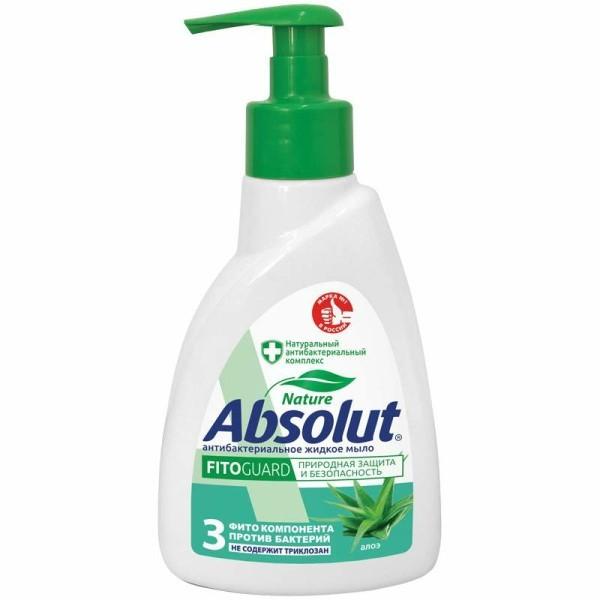 Жидкое мыло Абсолют 250 мл дозатор Алоэ